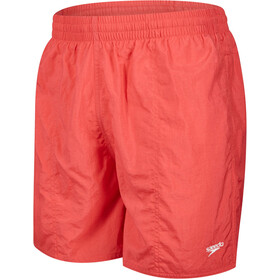"speedo Solid Leisure 16"" Pantaloncini nuoto Uomo, red"